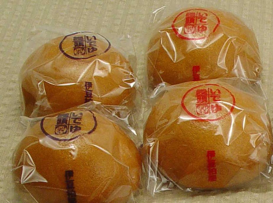 柏屋_温泉饅頭
